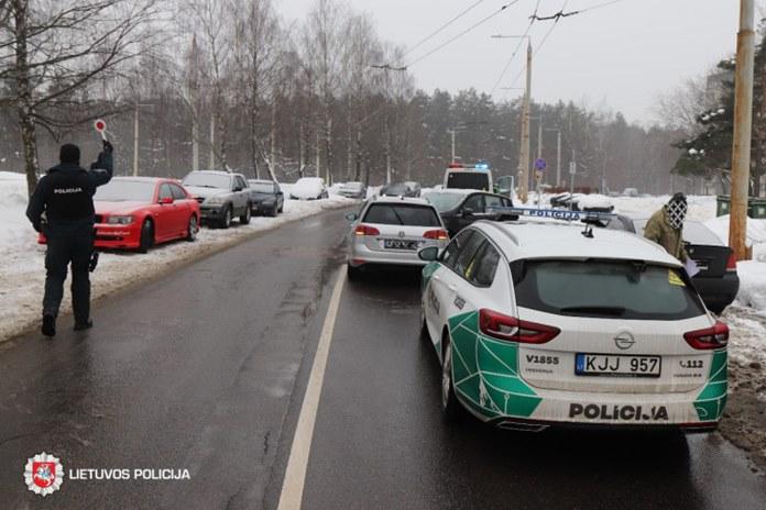 Savaitgalį daugiausia eismo įvykių įvyko miestų gatvėse
